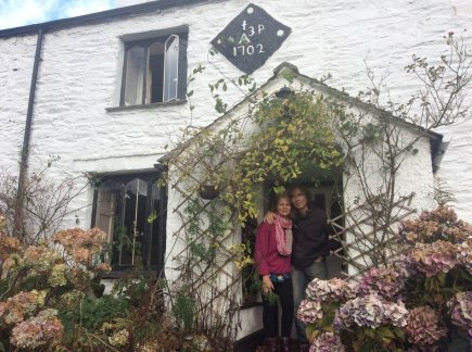 Tim and Liz Melling of Nab Cottage